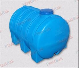 Пластиковая емкость, горизонтальная, 2000 литров