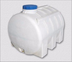 Пластиковая емкость, горизонтальная, 3000 литров