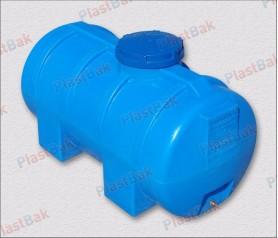 Пластиковая емкость для воды на 500 литров, горизонтальная