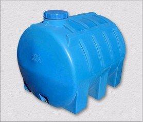 Пластиковая емкость, горизонтальная, 5000 литров