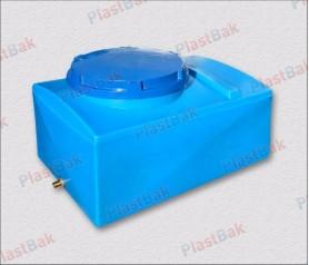 Пластиковая емкость, прямоугольная, 100 литров