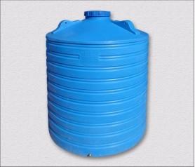 Емкость пластиковая вертикальная высокая 5000 литров